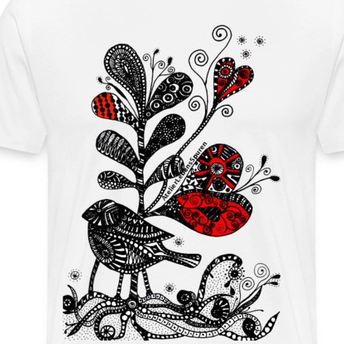 SVogerl mit Herz - Männer Premium T-Shirt