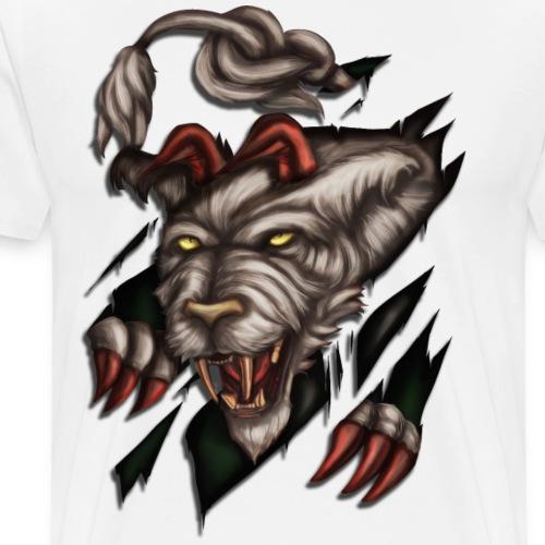 Steirischer Panther zerreisst Tshirt - Männer Premium T-Shirt