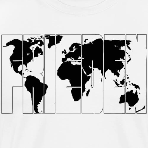 Weltfrieden 1.1 - Männer Premium T-Shirt