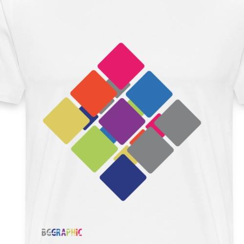 Cube 2 - Herre premium T-shirt