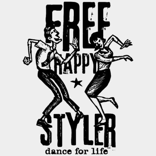 freestyler de danse styler gratuit - T-shirt Premium Homme