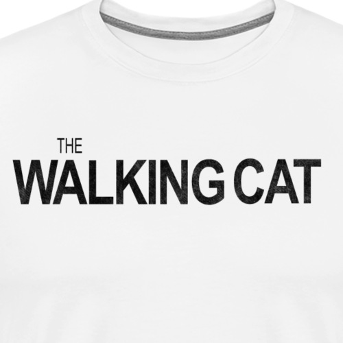 THE WALKING CAT - Männer Premium T-Shirt