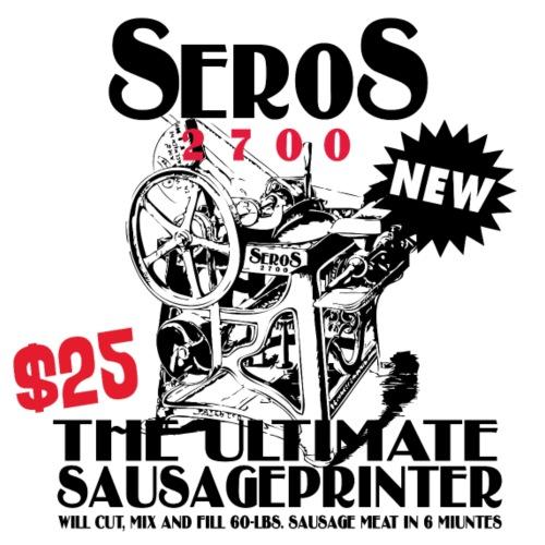 Sausageprinter - Männer Premium T-Shirt