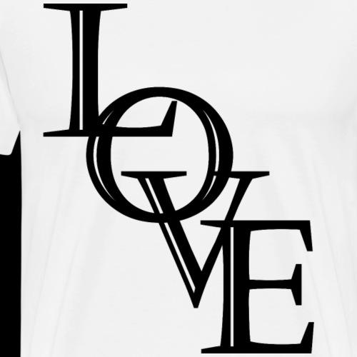 LOVE ❤ - Men's Premium T-Shirt