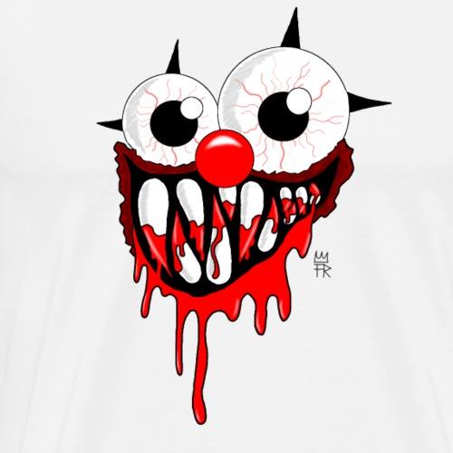 ClownMonster white - Männer Premium T-Shirt