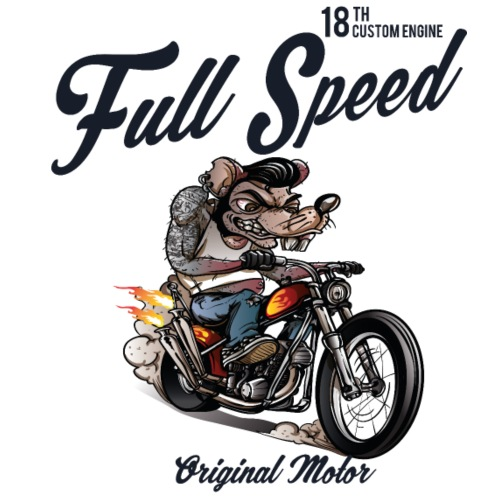 Full Speed Rat Race - Männer Premium T-Shirt