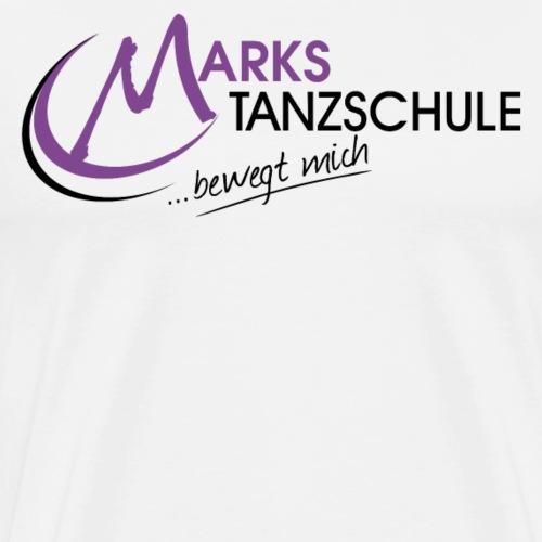 Marks Tanzschule - Männer Premium T-Shirt