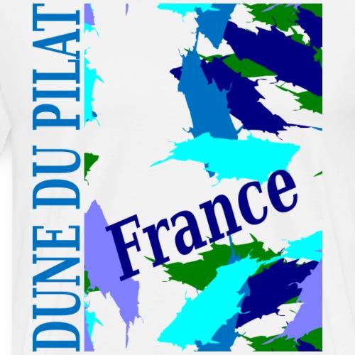 Dune of Pilat - France - Men's Premium T-Shirt