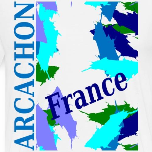 Arcachon - Nouveau design - T-shirt Premium Homme