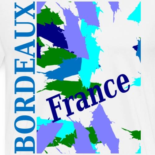 Bordeaux - Nouveau design - T-shirt Premium Homme
