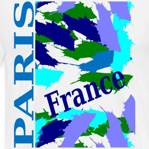 Paris - Couleurs, nouveau design - T-shirt Premium Homme