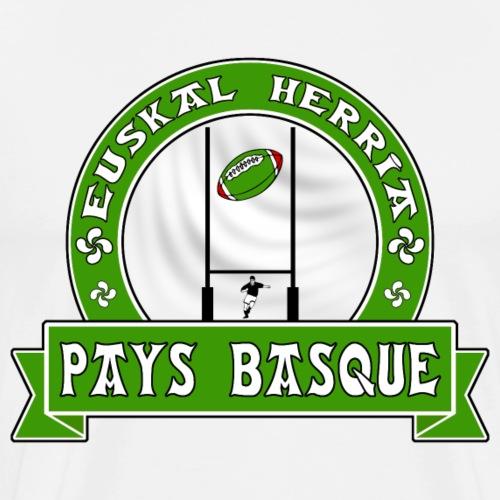 Pays Basque sport vert - T-shirt Premium Homme