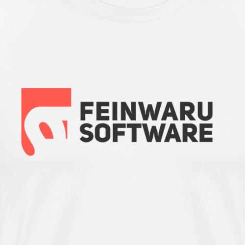 Feinwaru Full Logo - Men's Premium T-Shirt