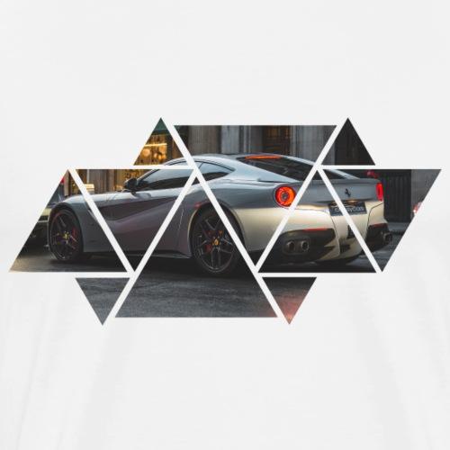 Triangles Black - Maglietta Premium da uomo