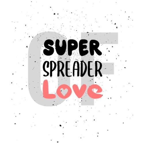 Superspreader of Love - Liebe statt Corona - Männer Premium T-Shirt