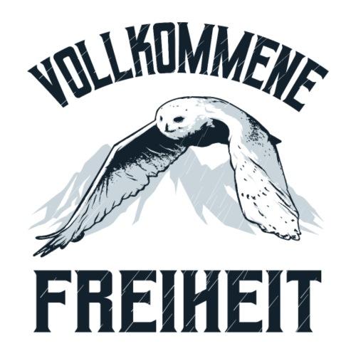 Vollkommene Freiheit Eule - Männer Premium T-Shirt