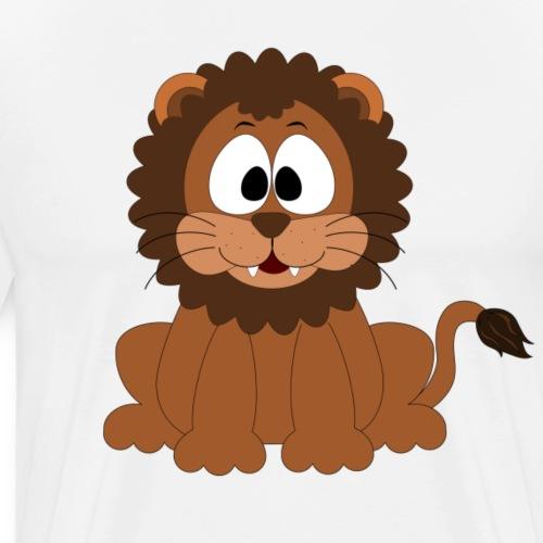 Süßer Löwe   Gute Geschenkidee - Männer Premium T-Shirt