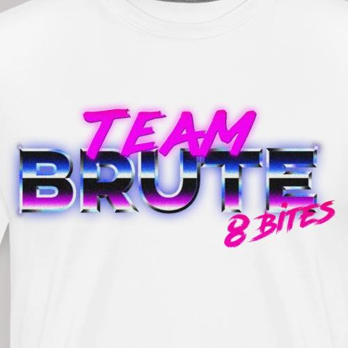 Team BRUTE Neon Pink - Men's Premium T-Shirt