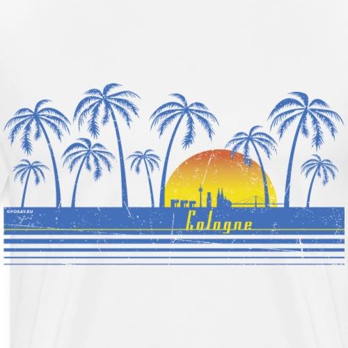 Cologne Retro Shop - Men's Premium T-Shirt