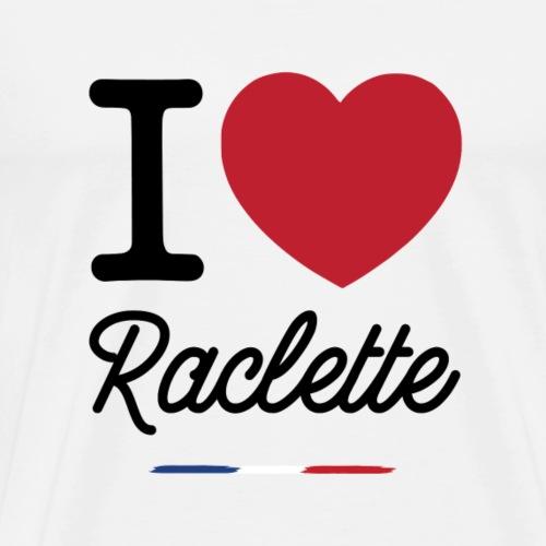 I love raclette - T-shirt Premium Homme