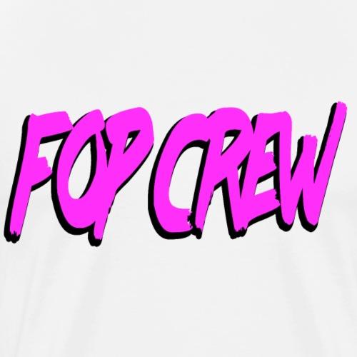FOP CREW - Premium-T-shirt herr