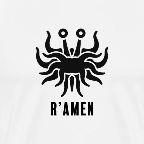 R'Amen, without stroke - Mannen Premium T-shirt