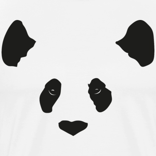 Panda - Premium-T-shirt herr