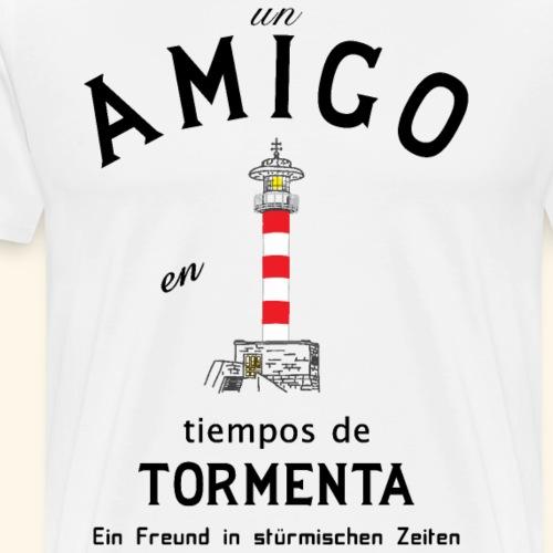 Freund auf Spanisch - Männer Premium T-Shirt