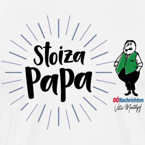Stoiza Papa - Männer Premium T-Shirt