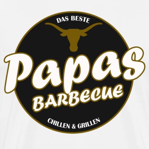 Papas Barbecue ist das Beste (Premium Shirt) - Männer Premium T-Shirt