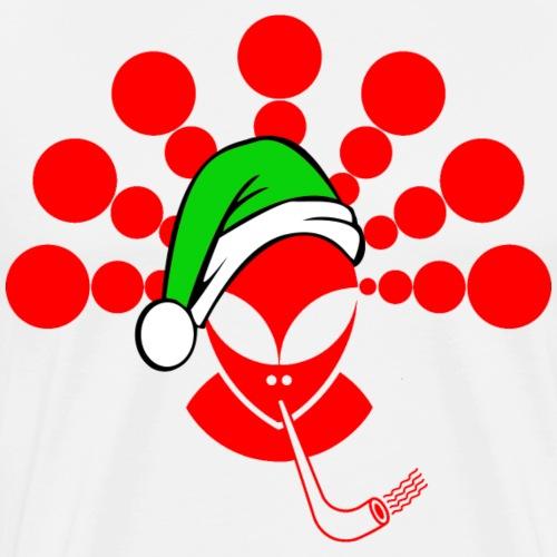 Christmas Alien Red