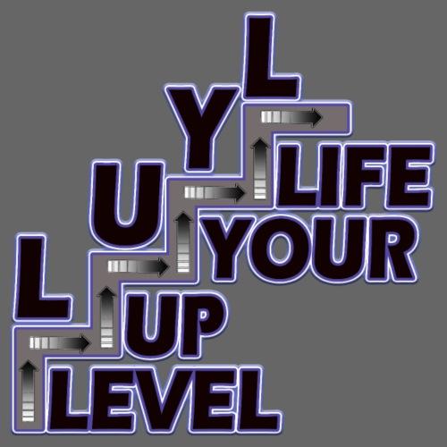 LUYL Level Up Your Life - Männer Premium T-Shirt