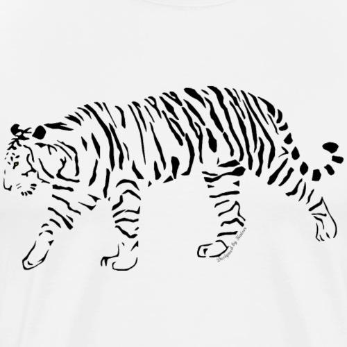 Tigre-Camouflage-1-1-F - T-shirt Premium Homme