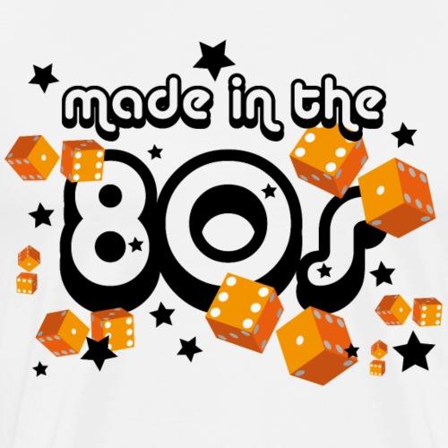Made in the 80s – Orange - Männer Premium T-Shirt