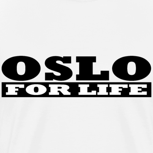 Oslo fürs Leben - Männer Premium T-Shirt