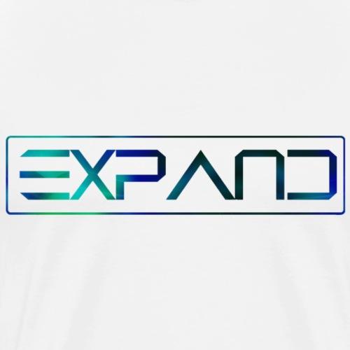 Expand Logo Text 2017 - Mannen Premium T-shirt