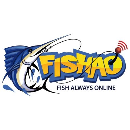 Fishao Logo - Männer Premium T-Shirt