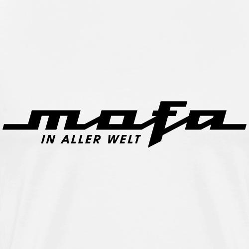 Mofa in aller Welt Logo Parodie (v2) - Men's Premium T-Shirt