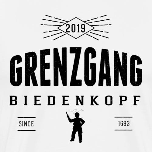 Grenzgang Biedenkopf Wettlaeufer - Männer Premium T-Shirt