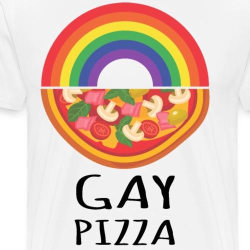 Gay Pizza | Pride | LGBTQIA - Männer Premium T-Shirt