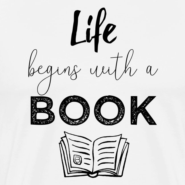 0019 life begins with a book bookworm