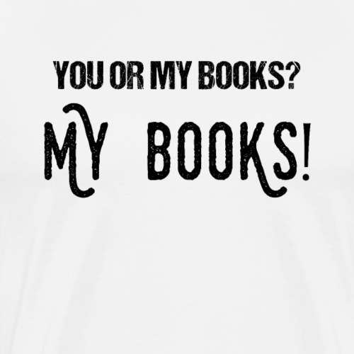 0100 Meine Bücher | Buchliebhaber | Bücherwurm