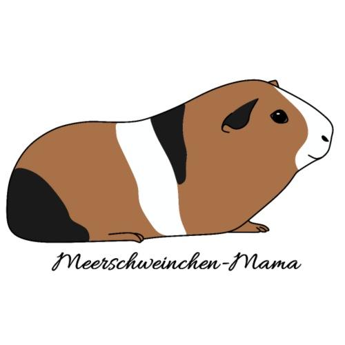 Meerschweinchen Mama Geschenkidee - Männer Premium T-Shirt
