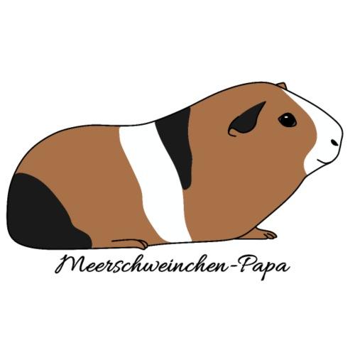 Meerschweinchen Papa Geschenkidee - Männer Premium T-Shirt