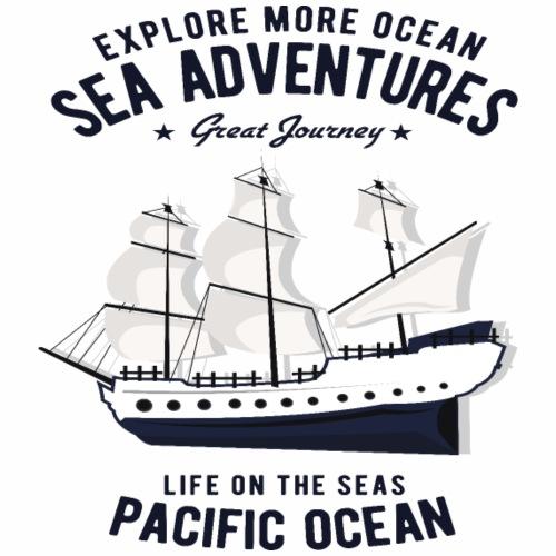 Segelschiff Segler Regatta Segelboot Urlaub Yacht - Männer Premium T-Shirt