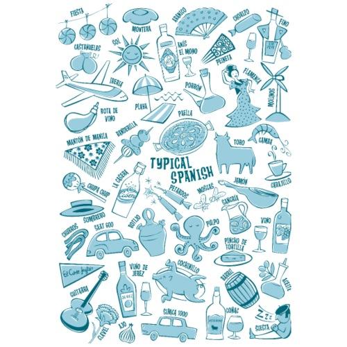 Vocabulario típico español - Camiseta premium hombre