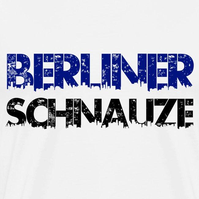 Berliner Schnauze Spruch Typografie