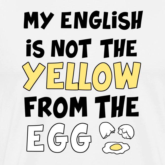 Schlechtes Englisch Witz Typografie