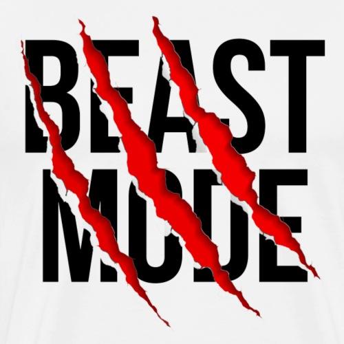 Beast Mode - Männer Premium T-Shirt
