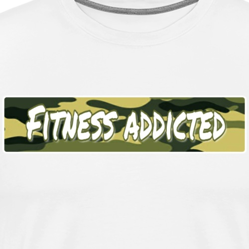 Fitness addicted - Männer Premium T-Shirt
